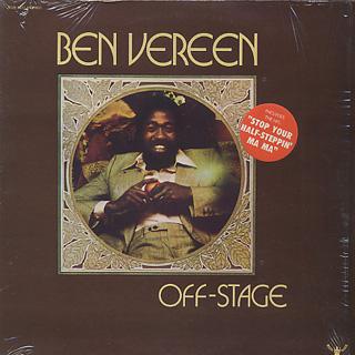 Ben Vereen / Off-Stage