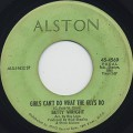 Betty Wright / Girls Can't Do What The Guys Do (VG)