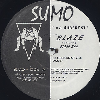 Blaze Featuring Piano Man / Hubert St.
