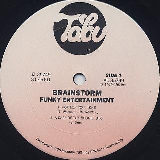 Brainstorm / Funky Entertainment label