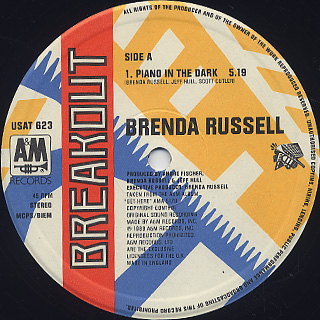 Brenda Russell / Piano In The Dark label
