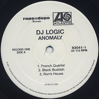 DJ Logic / The Anomaly label