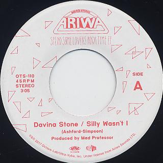 Davina Stone / Mad Professor - Silly Wasn't c/w Sweet Cherry