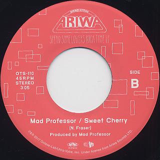 Davina Stone / Mad Professor - Silly Wasn't c/w Sweet Cherry back