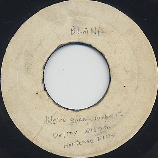 Delroy Wilson / Conquer Me c/w We're Gonna Make It front