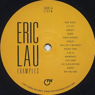 Eric Lau / Examples label