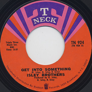 Isley Brothers / Get Into Something c/w Part II