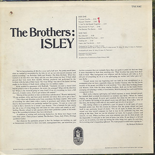 Isley Brothers / The Brothers : Isley back