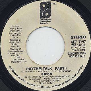 Jocko / Rhythm Talk