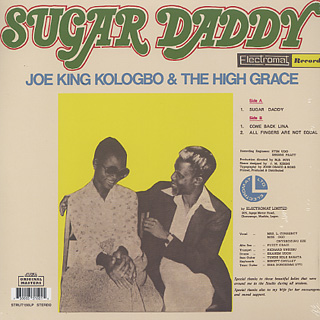 Joe King Kologbo & The High Grace / Sugar Daddy back
