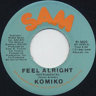 Komiko / Feel Alright (7