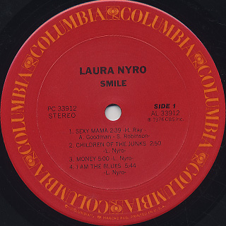 Laura Nyro / Smile label