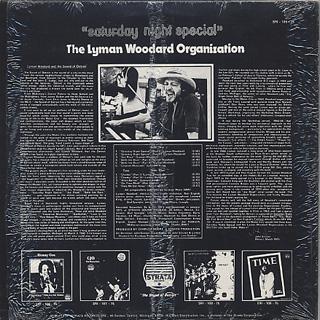 Lyman Woodard Organization / Saturday Night Special back
