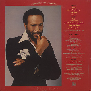Marvin Gaye / In Our Lifetime back
