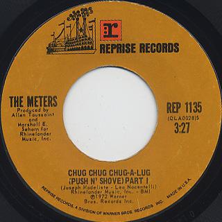 Meters / Chug Chug Chug-A-Lug (Push N' Shove) Part I c/w Part II