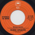 Minnie Riperton / Reasons c/w Every Time He Comes Around