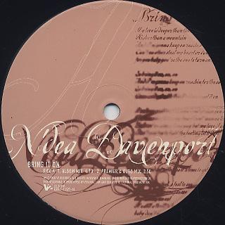 N'dea Davenport / Bring It On label