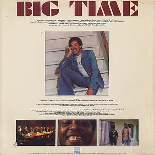 O.S.T.(Smokey Robinson) / Big Time back