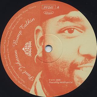 Paul Johnson / Bump Talkin label