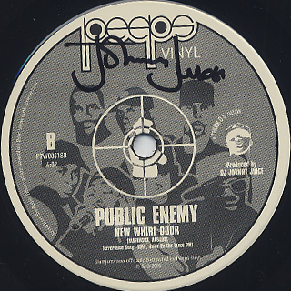 Public Enemy / Bring That Beat Back c/w New Whirl Odor back