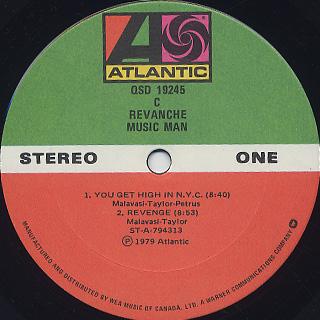 Revanche / Music Man label