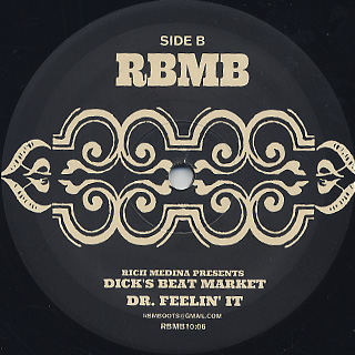 Rich Medina Presents Dick's Beat Market / The King's Instincts back