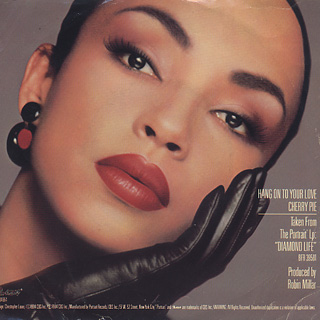 Sade / Hang On To Your Love c/w Cherry Pie front