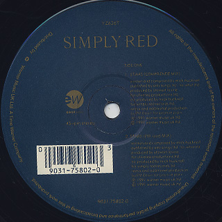 Simply Red / Stars label