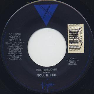 Soul II Soul / Keep On Movin'