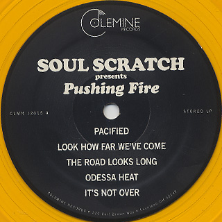 Soul Scratch / Pushing Fire label