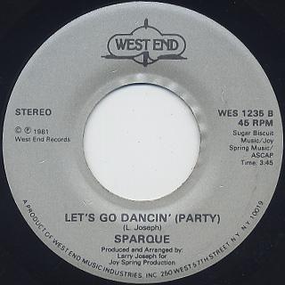 Sparque / Let's Go Dancin' (7