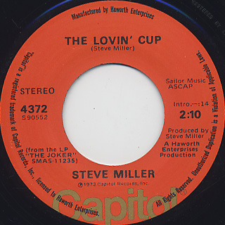 Steve Miller / Fly Like An Eagle back