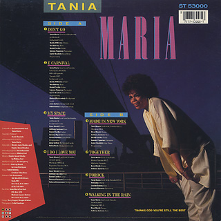 Tania Maria / Made In New York back