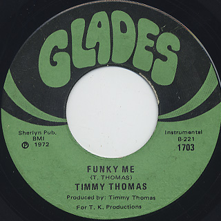 Timmy Thomas / Why Can't We Live Together (VG+) back