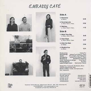 Andras Fox feat Oscar S. Thorn / Embassy Café back