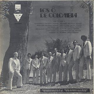 Los Ocho De Colombia / Piensa Corazón back