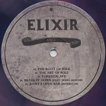 Aaron Rose / Elixir label