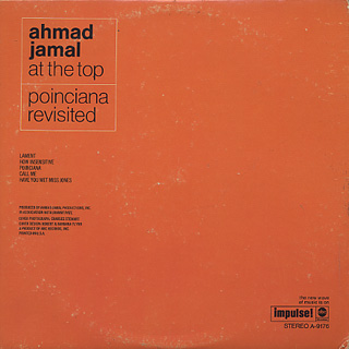 Ahmad Jamal / At The Top back