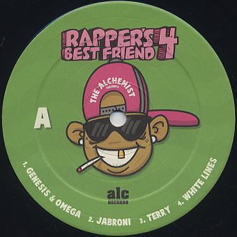 Alchemist / Rapper's Best Friend 4 label