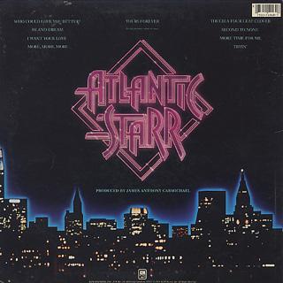 Atlantic Starr / Yours Forever back