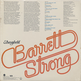 Barrett Strong / Stronghold back