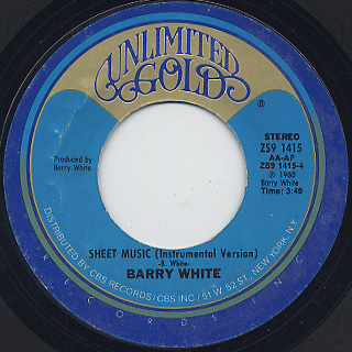 Barry White / Sheet Music (7