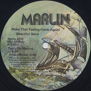 Beautiful Bend / Make That Feeling Come Again! label