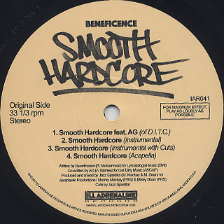 Beneficence / Smooth Hardcore back