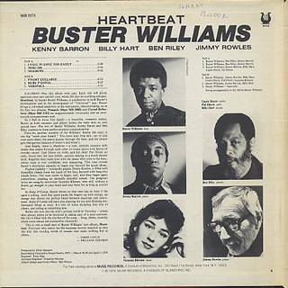 Buster Williams / Heartbeat back