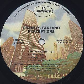 Charles Earland / Perceptions label