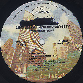 Charles Earland and Odyssey / Revelation label