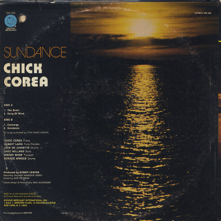 Chick Corea / Sundance back