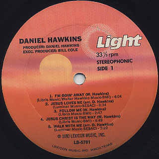 Daniel Hawkins / S.T. label
