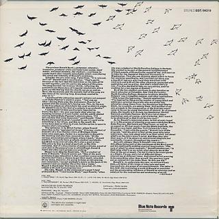 Donald Byrd / Fancy Free back